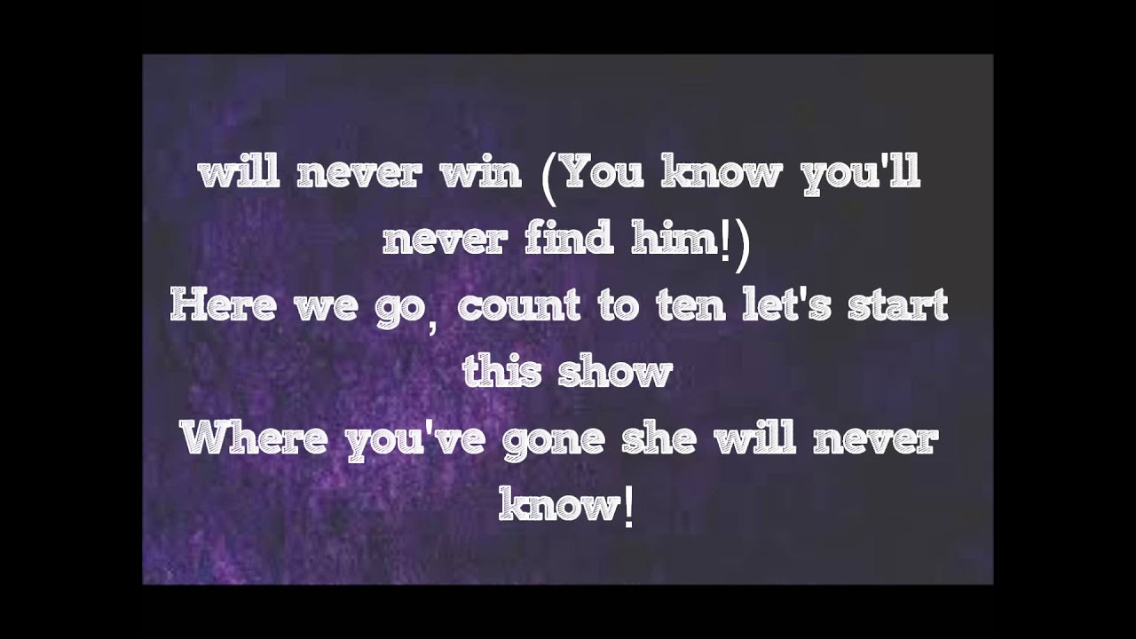 to play hide and seek with jealousy lyrics