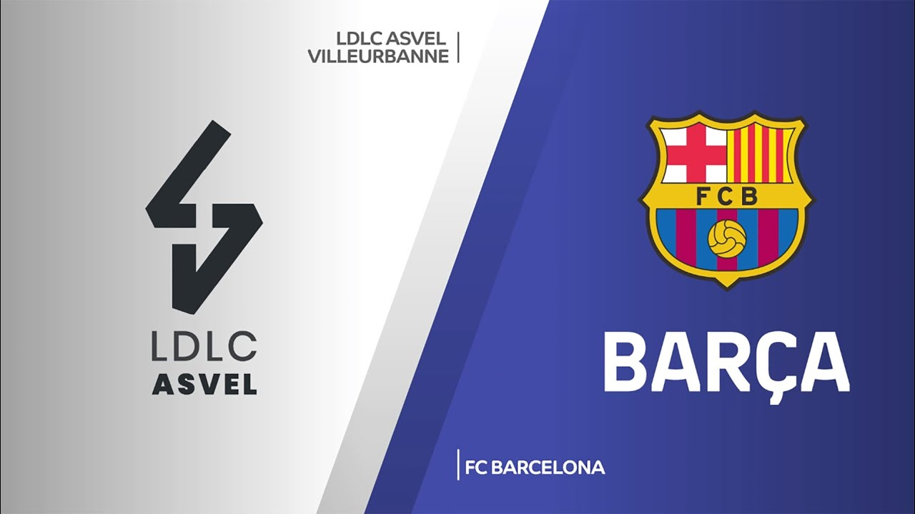 ÖZET | LDLC ASVEL Villeurbanne - FC Barcelona Videosu