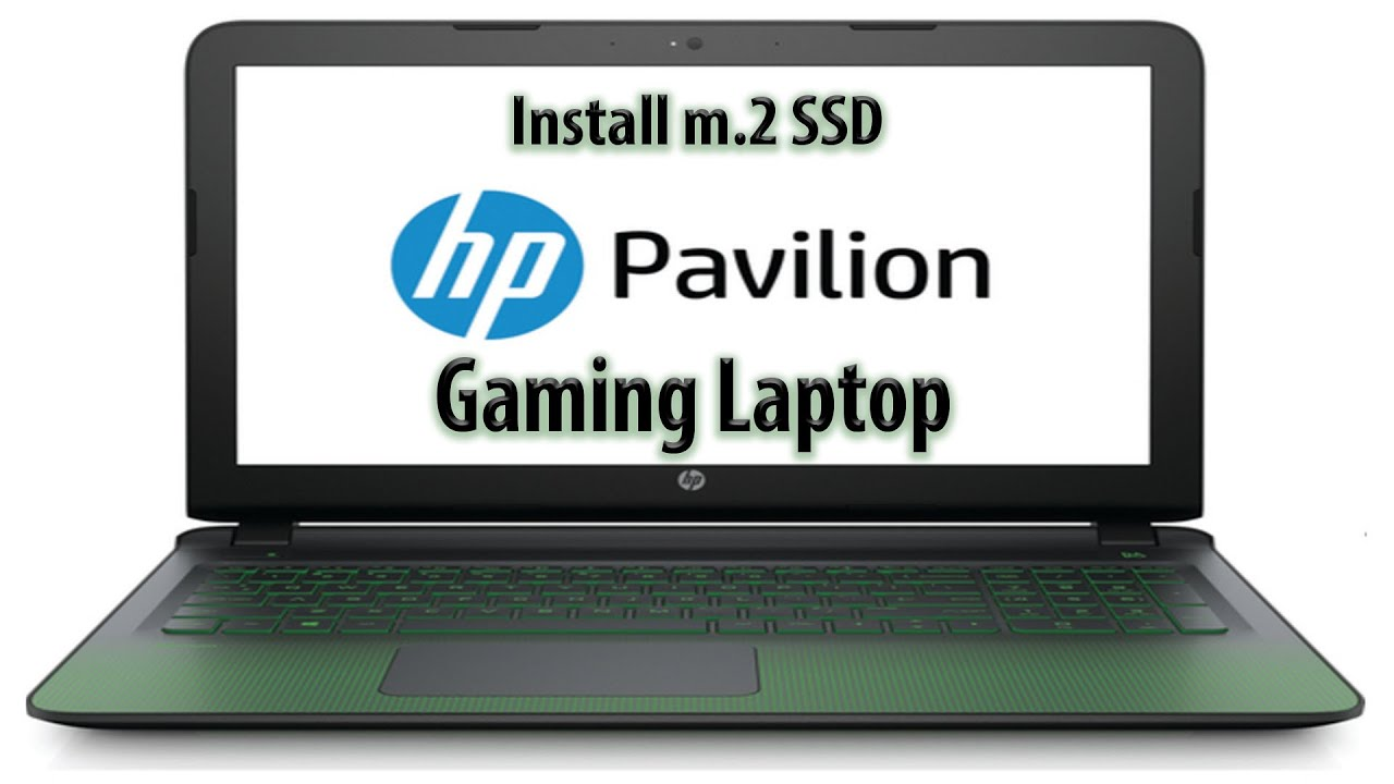 How-to install / Upgrade M.2 Drive on HP Pavilion 15 - Gaming Laptop