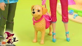 Barbie y su Perro Tanner en el Parque (cap 1)