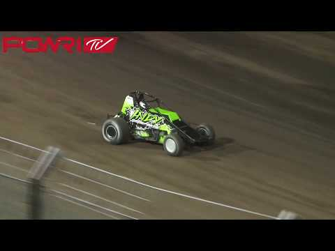 8/7/18 POWRi Lucas Oil WAR Sprint League at Southern Iowa Speedway A-Main Highlights