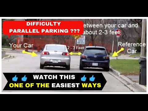 PARALLEL PARKING Easy and Simple - Method 1