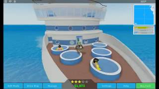 Roblox Cruise Ship Tycoon Trying to make the fastest ship
