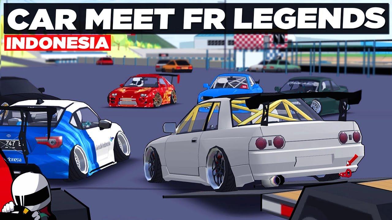 Modifan Kalian Keren Keren Car Meet Fr Legends Indonesia Youtube