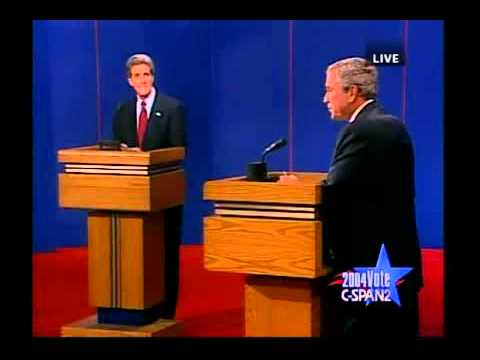 george bush vs john kerry A collection of memorable misstatements attributed to john kerry or george w bush.