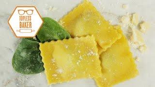 Easy Ravioli Recipe - Topless Baker