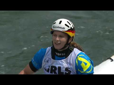 Semifinal K1W, C1M - 2017 ECA European Canoe Slalom Championhips, Tacen (SLO)