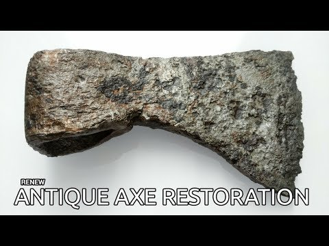 Antique Axe Restoration