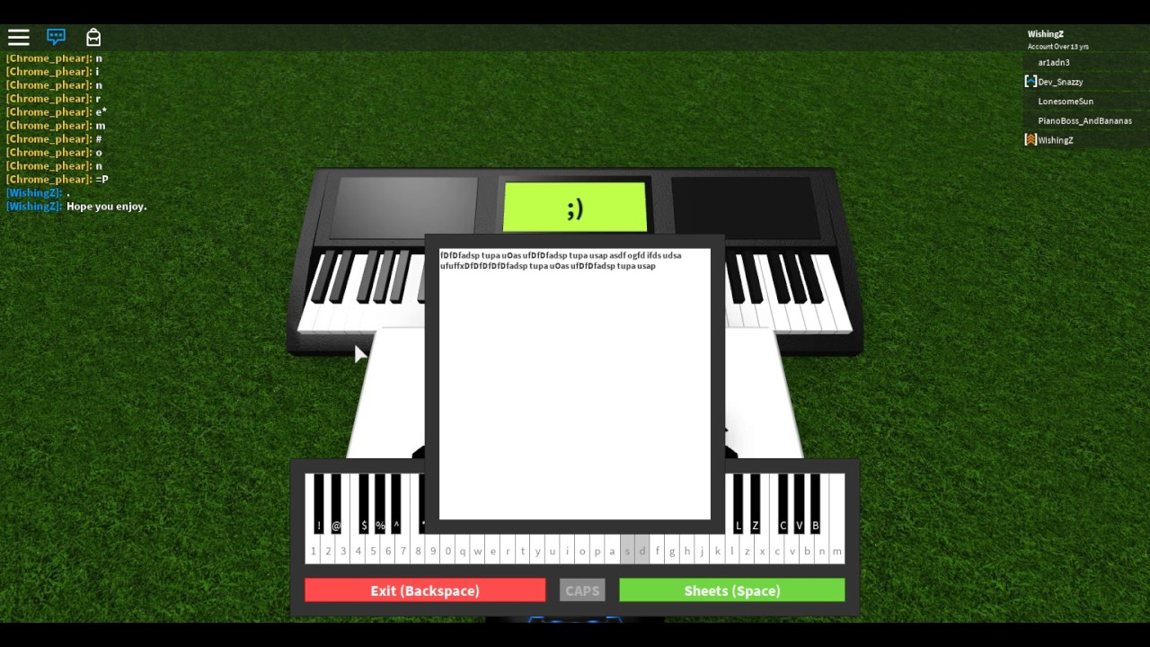 Roblox Piano Fur Elise Easy Youtube