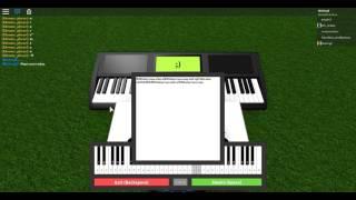 Roblox Piano Sheet Easy