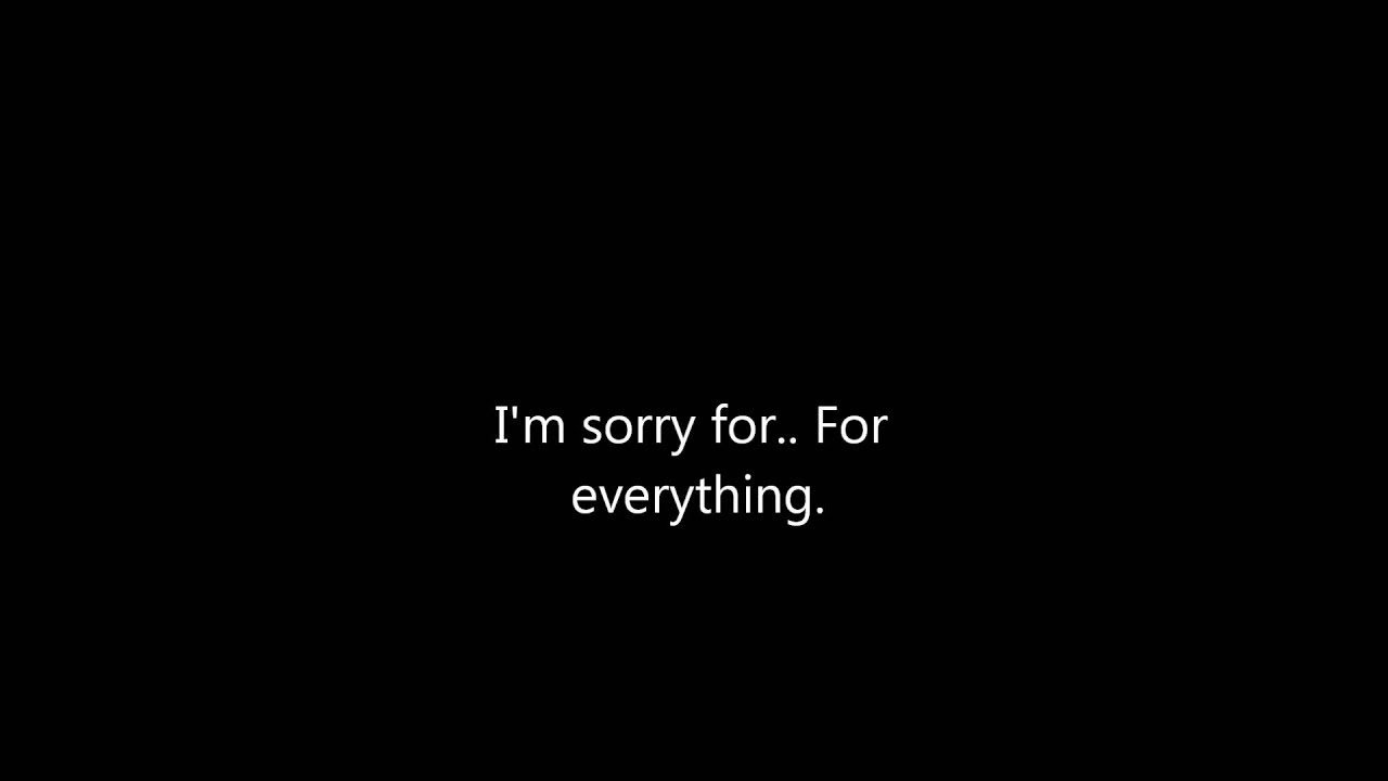 i m sorry for everything dead by april lyrics youtube
