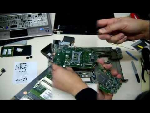 How to disassemble HP Pavilion dm4-1000 motherboard