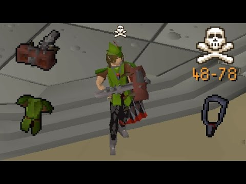 Low Level High Risk PKing in W337 - OSRS (Framed)