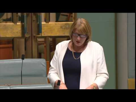 Joanne Ryan tribute to the Hon. Julia Gillard