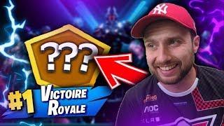 JE FAIS ENFIN MON PREMIER TOP 1 EN MODE ARÈNE !! Fortnite Battle Royale