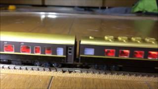 もしあのブランドが専用列車を走らせたら! という妄想で、作ってみました。