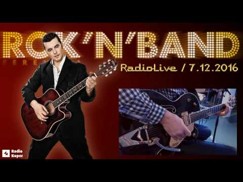 ROK'N'BAND v oddaji RADIO LIVE!