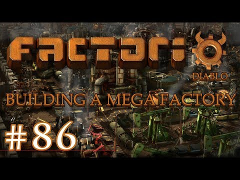 Factorio - Building a Mega Factory: Part 86 Cleaning up purple science