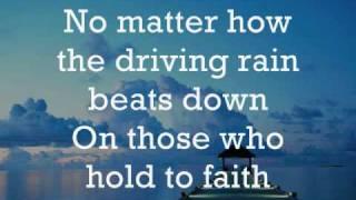 Sometimes He Calms the Storm - Lyrics