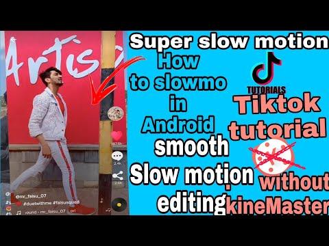 Tiktok Tutorial | Mr_faisu_07 Like Smooth Slow Motion Editing | Tiktok Trend | KineMaster Editing