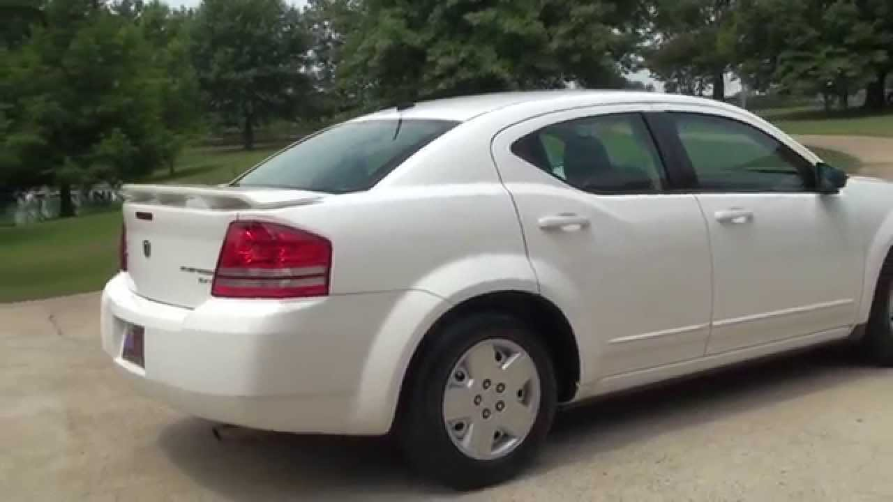 hd video 2010 dodge avenger sxt white for sale see www. Black Bedroom Furniture Sets. Home Design Ideas