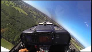 видео сертификат на полет на самолете