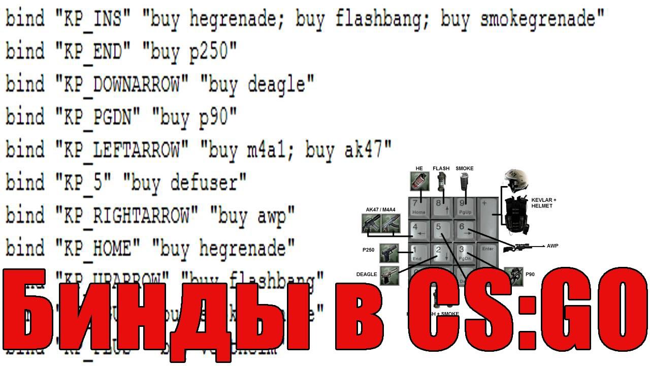 Cs go бинды на оружие cs go server cfg