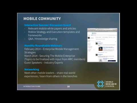 Webinar Propelics & Lopez Research-Introducing the Mobile Research Council