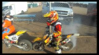 Motocross Kids Rippin On Dirt Bikes (part 1)