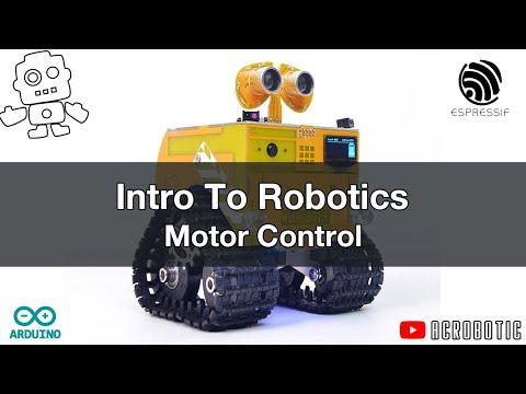 ESP8266 and Arduino Robotics: Motor Control | WHEEL-E Robot