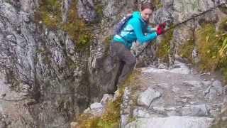 Po łańcuchach na Szpiglasową Przełęcz