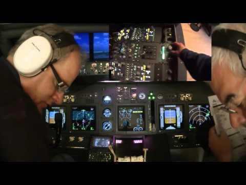 B737 Home Cockpit - Flight to Madeira