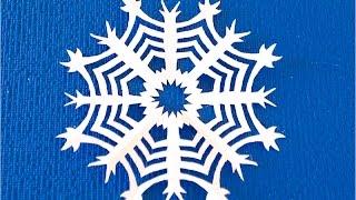 DIY Как вырезать снежинки из бумаги. Как сделать снежинку на Новый год.(Вырезание бумажных снежинок - это простое ремесло, которое у некоторых переходит в хобби. С каждым разом..., 2015-11-12T15:00:01.000Z)