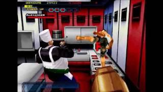 Dynamite Cop Arcade Game-play