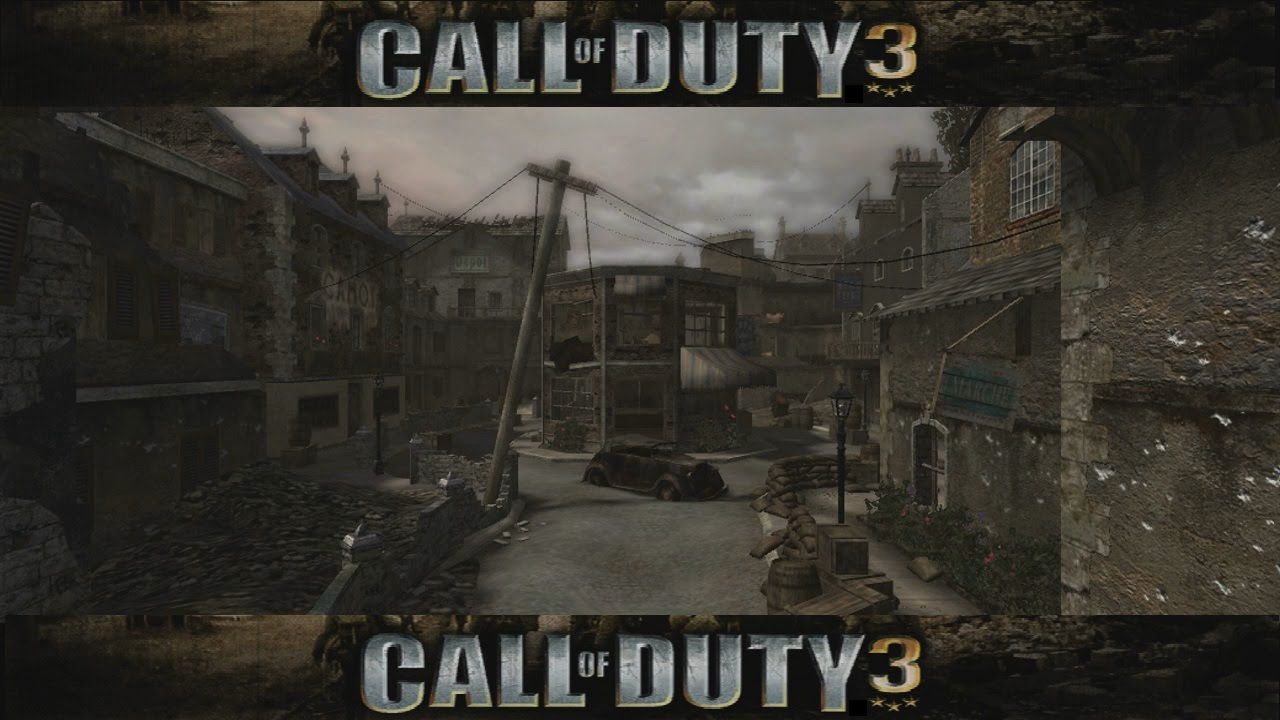 Lets review call of duty 3 multiplayer maps map 06