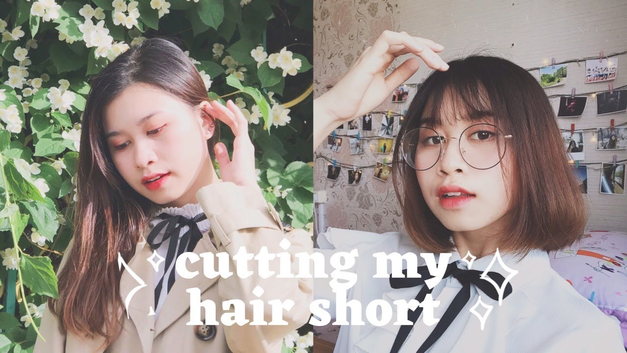 TRẢI NGHIỆM TỰ CẮT TÓC NGẮN VÀ CÁI KẾT GÂY SỐC l CUTTING MY OWN HAIR SHORT 💇♀️💇♀️ sullicious 💖