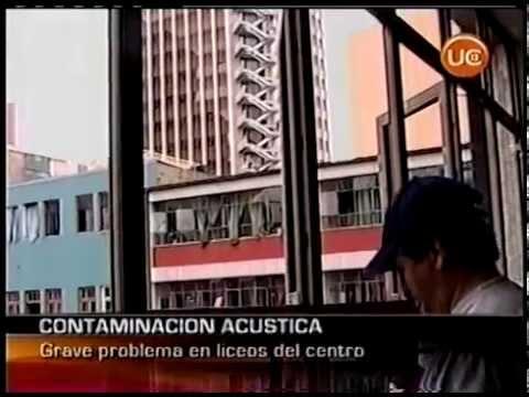 Contaminación Acústica en Santiago - Canal 13