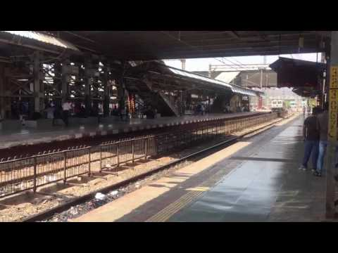 Ltt Mumbai Coimbatore Express arrives Thane