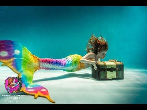 Underwater Mermaid Model /Behind The Scenes With Mermaid Tempest
