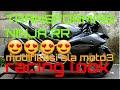 Modifikasi Ninja RR   ala Moto3 simple elegan   racing look