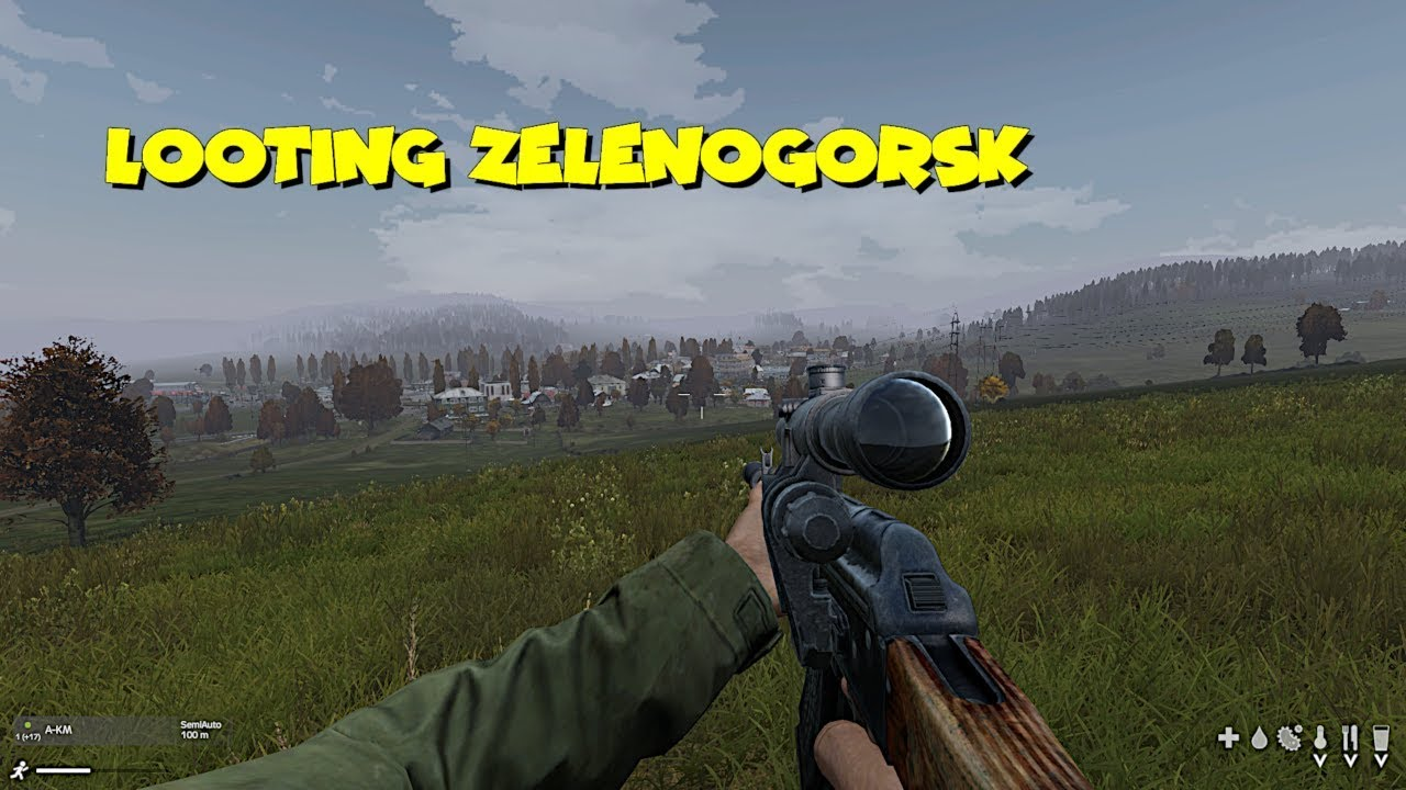 Xbox One DayZ Gameplay - Looting Zelenogorsk Military Base