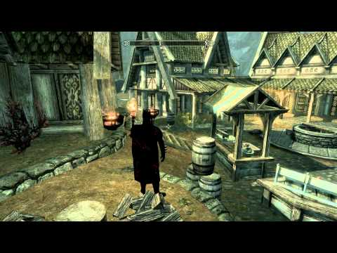 Skyrim Mod of the Day - Episode 61: Dark Knight Project/Secret City Entrances/The Mysterious Crypt