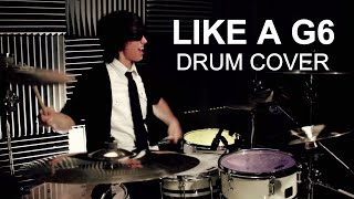 ricky far east movement like a g6 drum cover