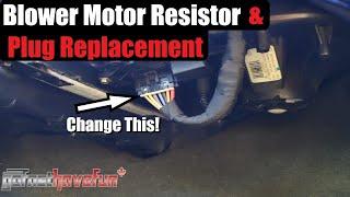 Blower Motor Resistor and Plug Replacement Silverado & Sierra (GMT800) manual HVAC    AnthonyJ350