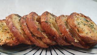 바삭하고 맛있는 마늘바게트빵 만들기