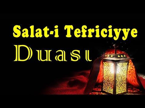 Salat i Tefriciyye -ŞİFA BULMAK  BORÇ tan KURTULMAK SINIF GEÇMEK VE DAVA KAZANMAK İÇİN  DUA