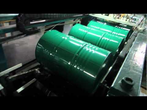 Petrol Barrel Automatic Screen Printing Machine