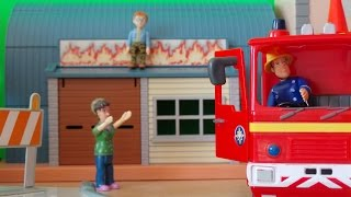 Fireman Sam Episode Peppa Pig sees Naughty Norman Trapped in Pontypandy Full Story