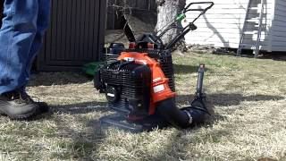 Starting The Echo PB 500T Backpack Blower