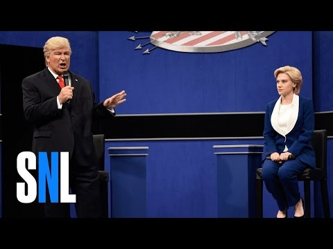 Donald Trump vs  Hillary Clinton Town Hall Debate Cold Open - SNL